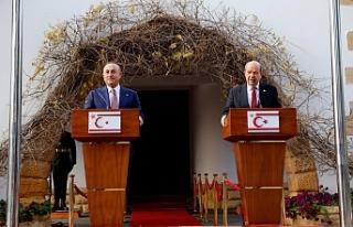 """Çavuşoğlu: """"Kıbrıs meselesinde egemen eşitlik..."""