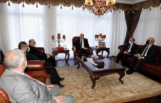 Cumhurbaşkanı, Maronit din adamları ile görüştü