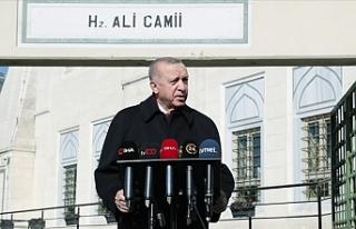 """Erdoğan: """"Bu işi bir daha Gezi olaylarıyla..."""