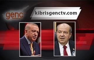 Erdoğan ve Tatar, telefonda görüştü
