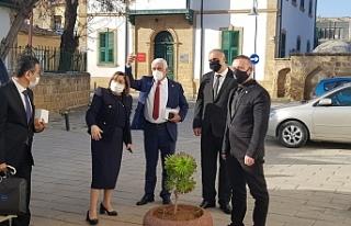 Fatma Şahin'den Kıbrıs Türk Belediyeler Birliği'ne...