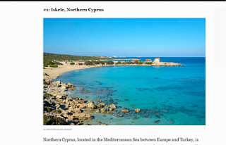 Forbes, Kuzey Kıbrıs'ı 2021'de sahil kıyısında...