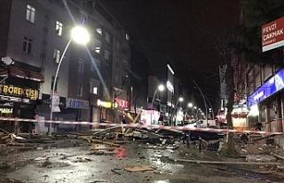 İstanbul'da fırtına etkisini sürdürüyor
