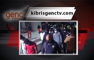 Lefkoşa'da doğum günü partisine 13 tutuklama