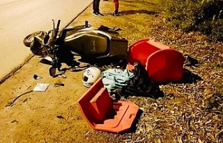 Motor sürücüsü kurtarılamadı