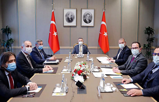 Oktay, Ekonomik Örgütler Platformu üyeleriyle görüştü