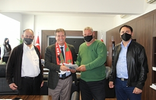 Ortaköy Spor Kulübü Yönetim Kurulundan Arıklı'ya...
