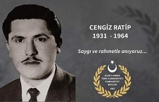 Şehit Milletvekili Cengiz Ratip anılıyor