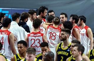 Türkiye A Milli Erkek Basketbol Takımı Avrupa Şampiyonası'nda