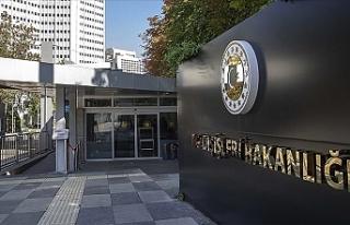 """Türkiye Dışişleri Bakanlığı: """"ABD Büyükelçisi..."""