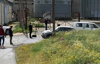 Akıncılar ile Kiracıköy arasındaki tampon bölgede...