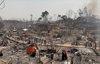Bangladeş'te Arakanlı Müslüman mültecilerin...