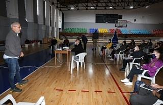 Basketbol Hakem Akademisi, ilk eğitim çalışması...