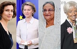 Dünya genelinde son yıllarda kadın liderler ve...