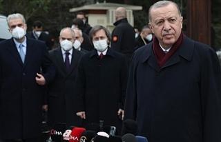 """Erdoğan: """"2023'e Cumhur İttifakı olarak..."""