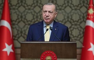 """Erdoğan: """"Kadına yönelik her türlü fiziki..."""