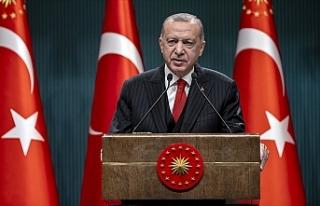 """Erdoğan: """"Yerli aşı çalışmalarımız tamamlandığında..."""