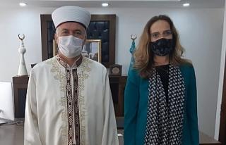 Fransa Büyükelçisi'nden ziyaret
