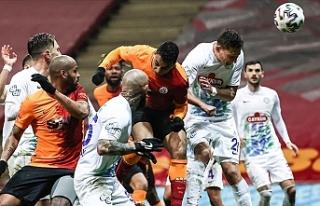 Galatasaray - Çaykur Rizespor maçında 7 gol