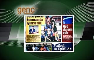 Gazetelerin spor manşetleri