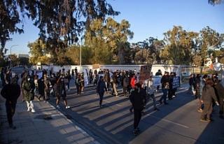 Güneyde barışçıl protesto yürüyüşü