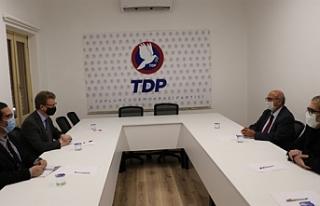 İngiliz Yüksek Komiseri'nden TDP'ye ziyaret