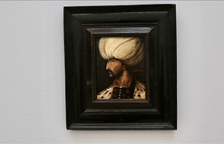 İngiltere'de Kanuni Sultan Süleyman portresi...