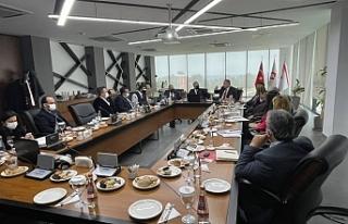 Kıbrıs Üniversiteler Birliği toplantı yaptı...