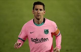 La Liga Başkanı Tebas, Messi'ye Barcelona'da...