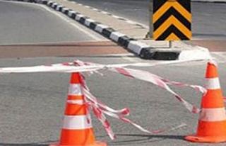 Lefkoşa-Dikmen anayolu araç trafiğine kapatılacak