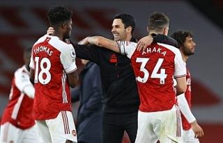 Londra derbisinde kazanan Arsenal