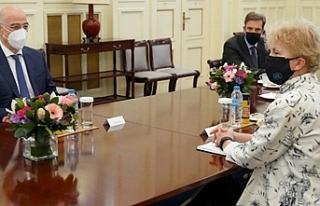 Lute, Yunanistan Dışişleri Bakanı ile görüştü