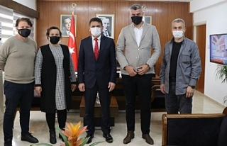 Oğuz, Karadeniz Kültür Derneği'ni kabul etti