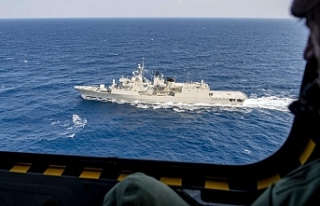 Rum, Yunan ve ABD kuvvetlerinin katılımıyla eğitim