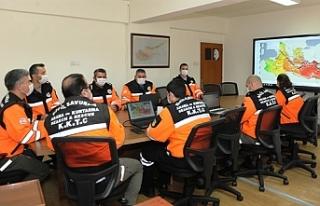 Sivil Savunma, Tsunami Testi ve Müdahale Tatbikatına...