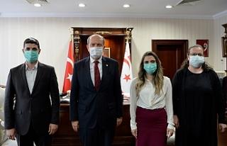 Tatar, Türk Kızılay Kuzey Kıbrıs Delegasyon Başkanlığı...