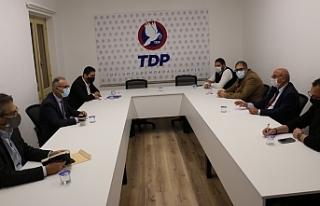 TDP ve DİSİ heyetleri görüştü