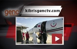 Türkiye'den 20 bin doz aşı ambulans uçakla Ercan'a...