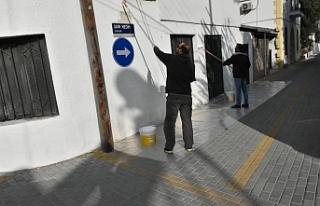 Yukarı Girne Mahallesinde çevre düzenlemesi