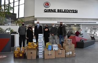 Antalya Muratpaşa Belediyesi'nden Girne Belediyesi'ne...