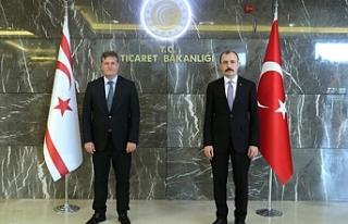 Arıklı, Türkiye Ticaret Bakanı Muş ile görüştü
