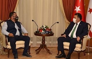 Başbakan, Çiftçiler Birliği ile görüştü