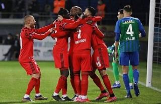 Beşiktaş, istikrarını sürdürdü
