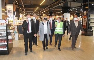 Canaltay, Ercan Havalimanında incelemelerde bulundu