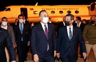 Çavuşoğlu, KKTC temaslarını tamamladı