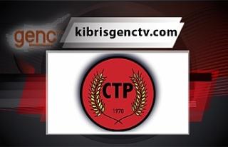 CTP, Cumhurbaşkanı Tatar'a çağrıda bulundu