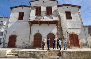 Değirmenlik'te tarihi Osmanlı konağı restore...