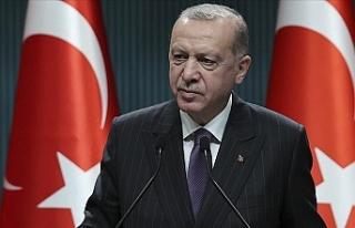 """Erdoğan: """"Yerli aşımızı tüm insanlığın..."""