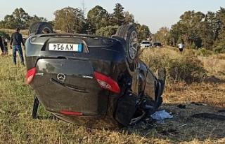 Geçitkale-Tatlısu Anayolu'nda kaza...1 kişi hayatını...