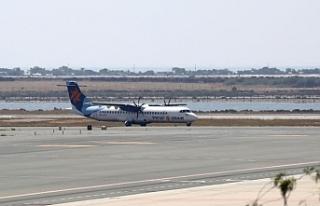 Güney Kıbrıs'a yönelik uçuşlara büyük...